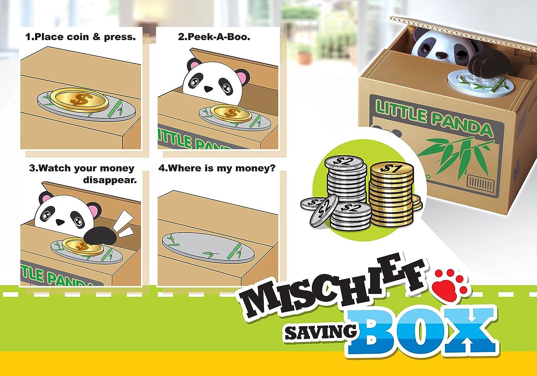 Mischief Saving Box Stealing Coin Piggy Bank Monkey