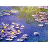 CLAUDE MONET NYMPHEAS AT GIVERNY OLD MASTER ART PAINTING PRINT 12x16 inch 30x40cm POSTER 556OM