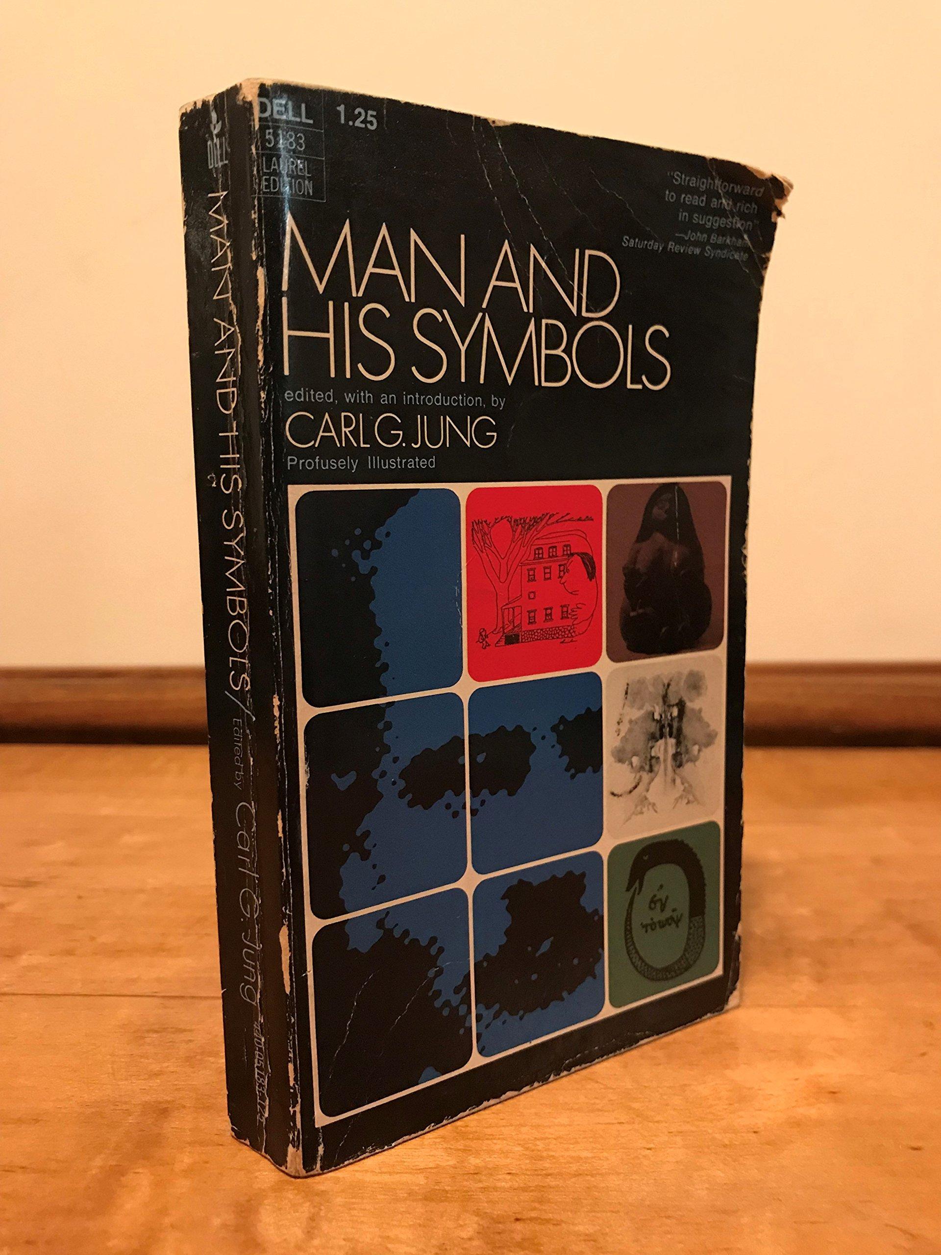 Man And His Symbols Dell 5183 Laurel Edition 1975 Joseph L