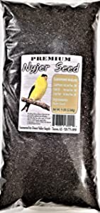 Premium NYJER Seed - Wild Bird - Finch Food (5-Pounds)