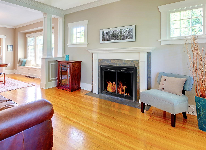 amazon com pleasant hearth cm 3010 small clairmont fireplace