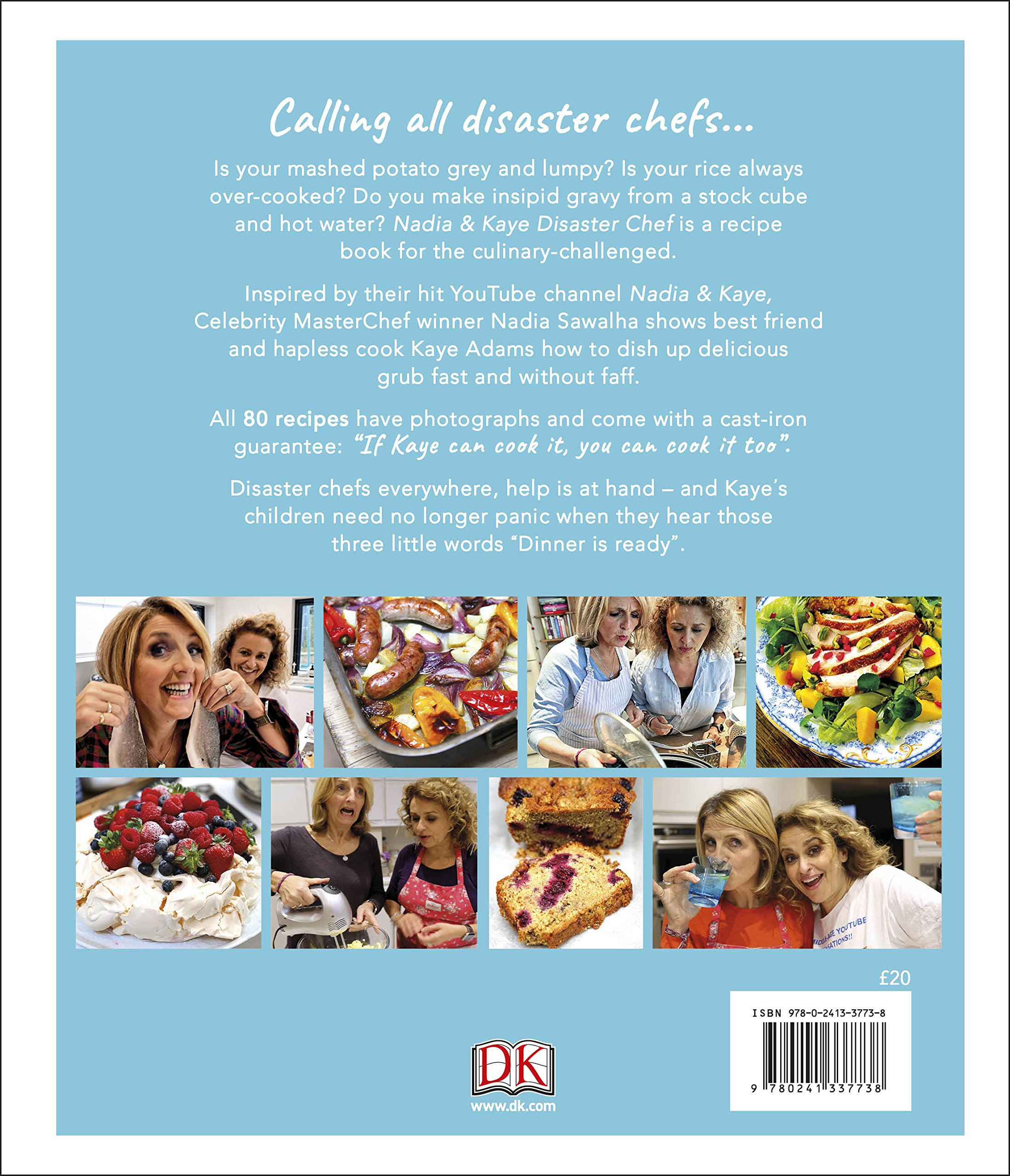 Nadia and Kaye Disaster Chef: Simple Recipes for Cooks Who Can\'t ...