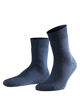 FALKE rutschfeste Socken Homepads 70% Baumwolle Socken mit anti rutsch ABS Sohle Größe 35 50 versch. Farben Damen Herren Stoppersocken