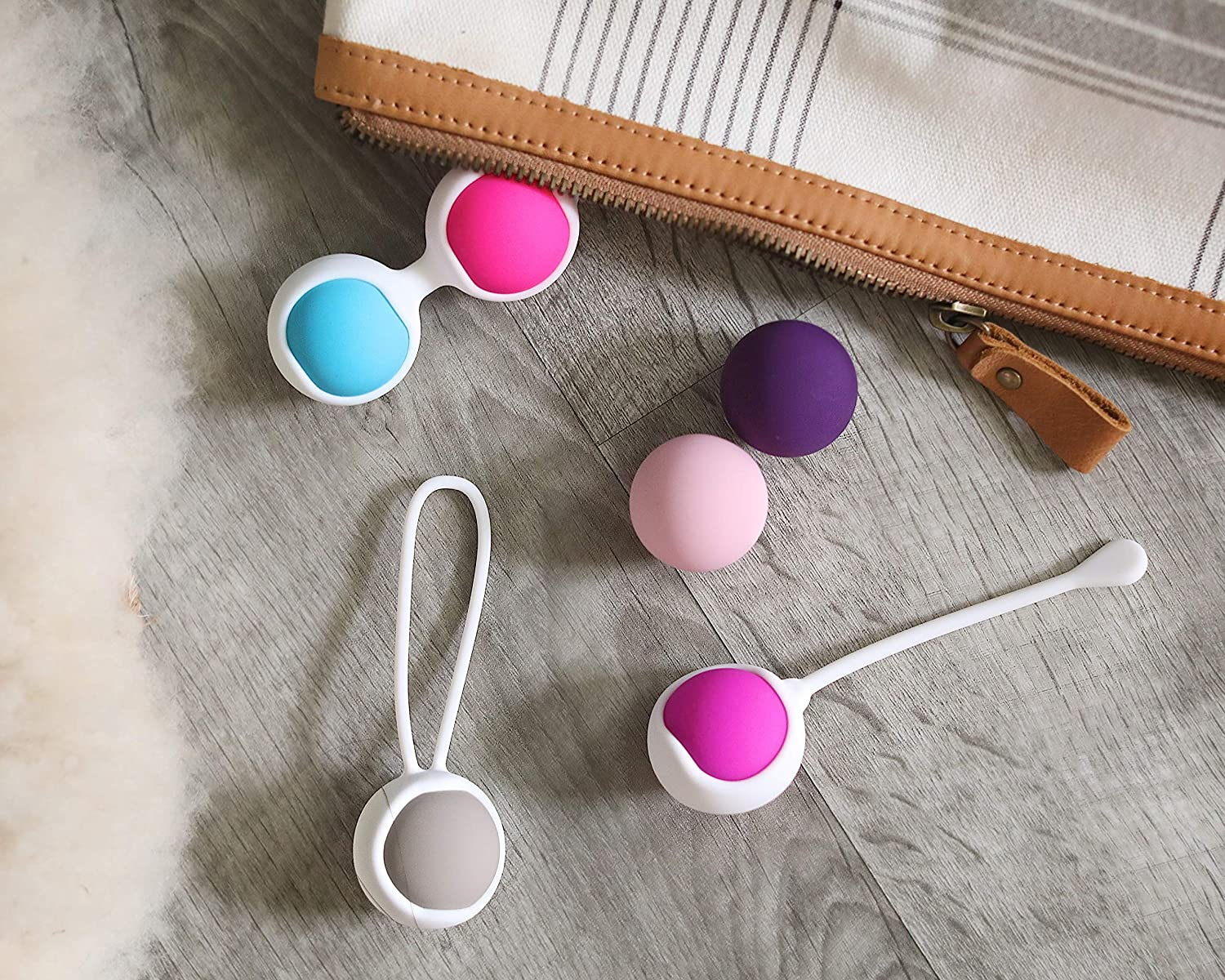 Ben Wa Progressive Kegel Weight Exercise System: 6 Weights for Woman Tightening, Beginner to Advance Strengthen Pelvic Floor Muscle Recovery and Resolves Incontinence & Bladder Control: Health & Personal Care