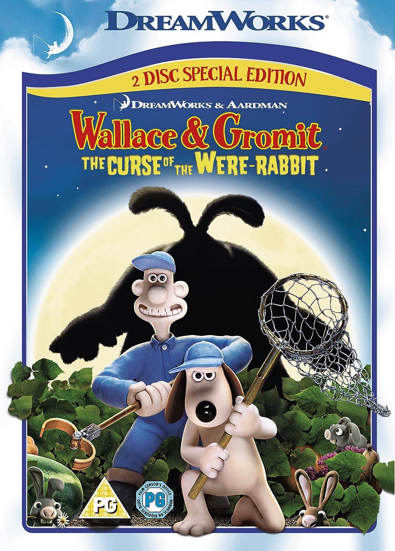 Wallace Gromit The Curse Of The Were Rabbit 2 Disc Special Edition Dvd 2005 Amazon Co Uk Peter Sallis Helena Bonham Carter Ralph Fiennes Peter Kay Nicholas Smith Liz Smith John Thomson Mark Gatiss