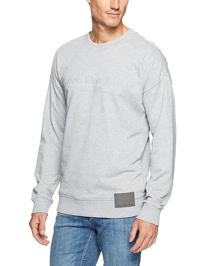 Calvin Klein 卡尔文克莱因 CK Oversized 男式宽松套头运动衫 S码2.8折$22.33 海淘转运到手约¥199