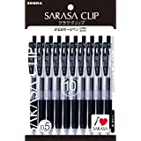 ZEBRA 圆珠笔 SARASA CLIP 0.5 黒 10本パック