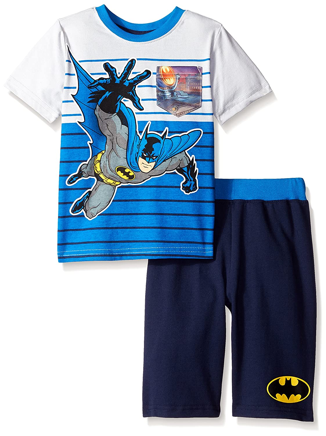 Batman Boys' 2pc Top and Short Set 2 piece Batman short set