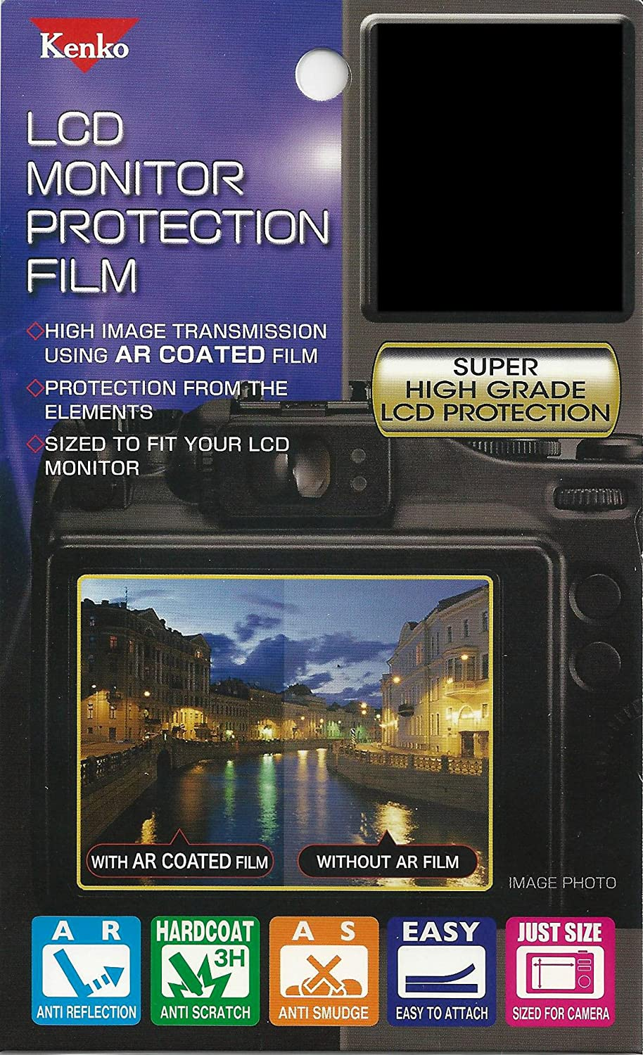 LCD-C-5DM4 Clear Kenko LCD Screen Protector for Canon EOS 5D Mark IV