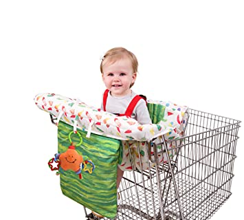 Amazon.com : Eric Carle Shopping Cart and Hi Chair Cover, Baby ...