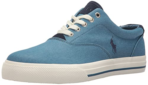 ae053bdd2b Polo Ralph Lauren Men's Vaughn-Colored Denim Sneaker