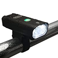 front 3 led USB rechargeable /& rear 9 led bike lights set bright light cycling