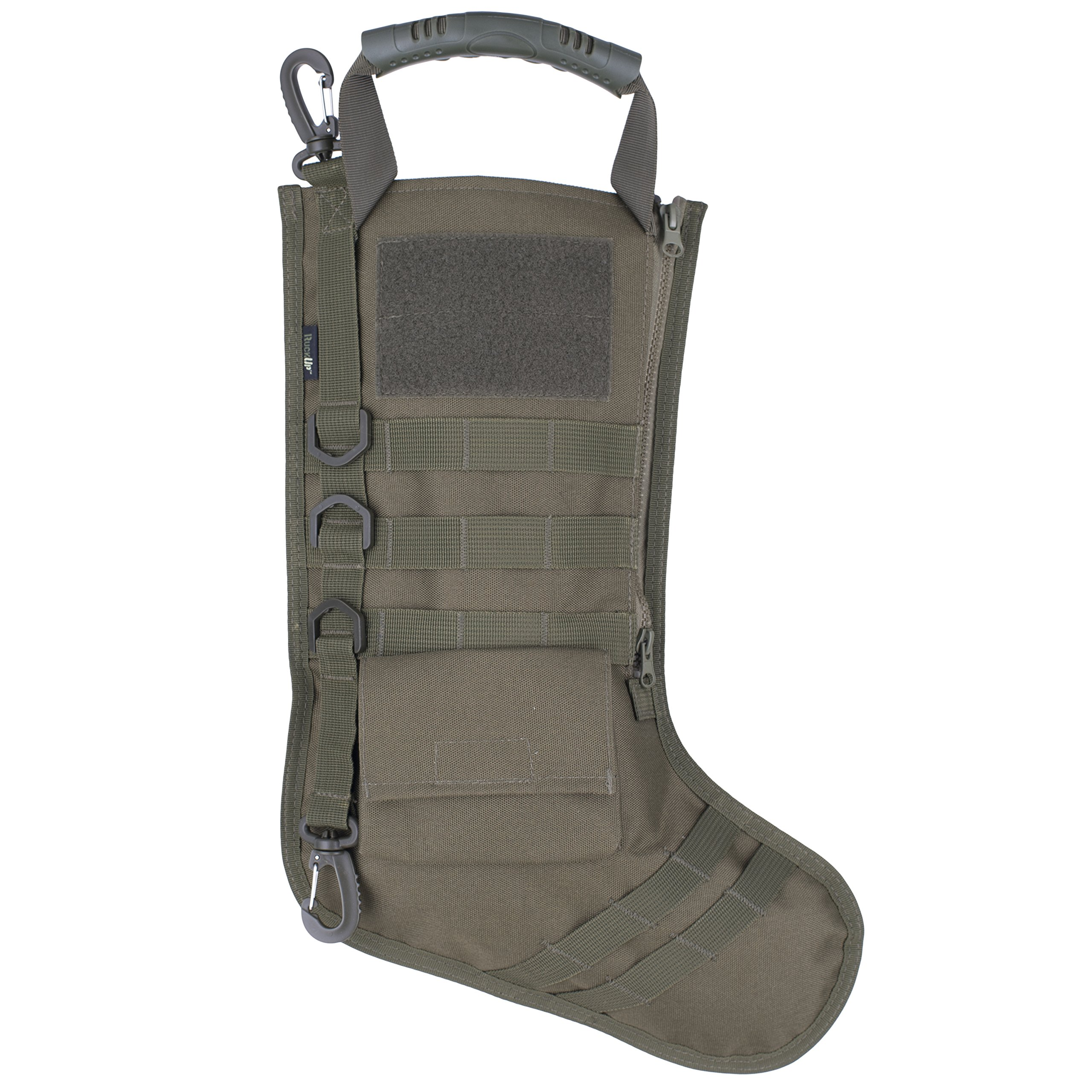 RUCKUP RUXMTSG Tactical Christmas Stocking, Full, OD Green