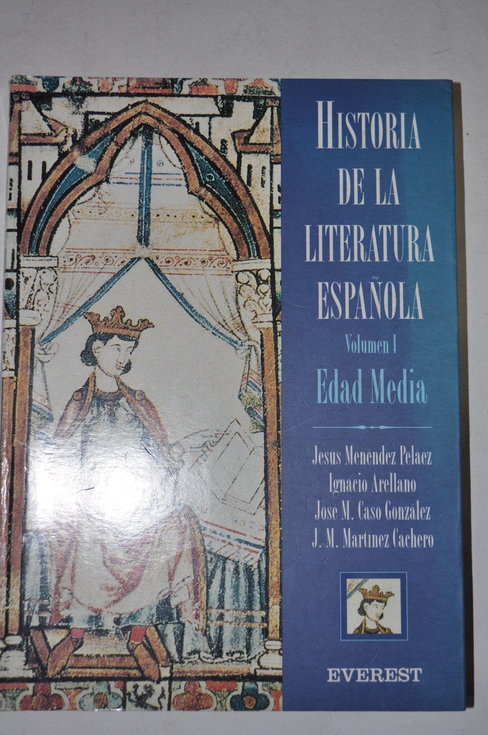 Historia de la Literatura Española Volumen I Edad Media: Amazon.es ...