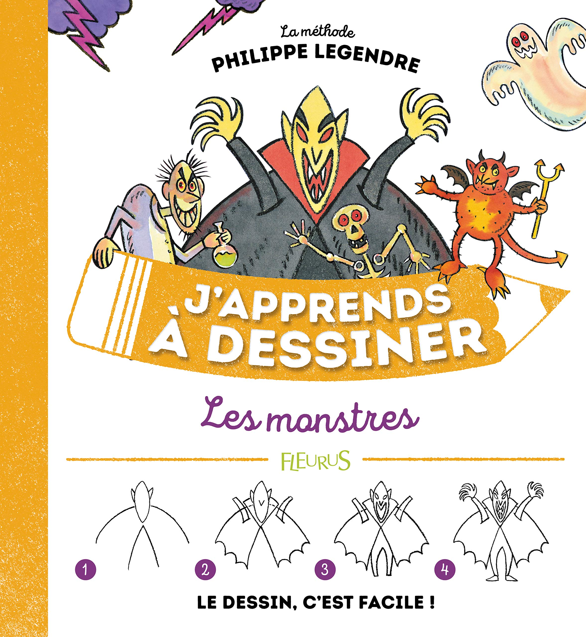 Amazon Fr J Apprends A Dessiner Les Monstres Legendre