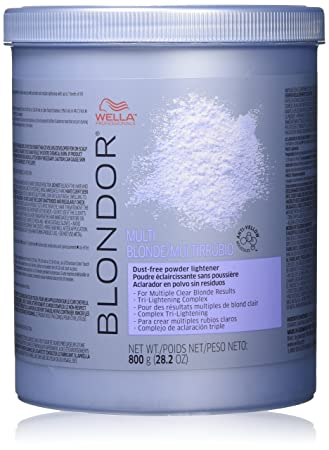Amazoncom Wella Blondor Multi Blonde Powder Lightener 282 Ounce