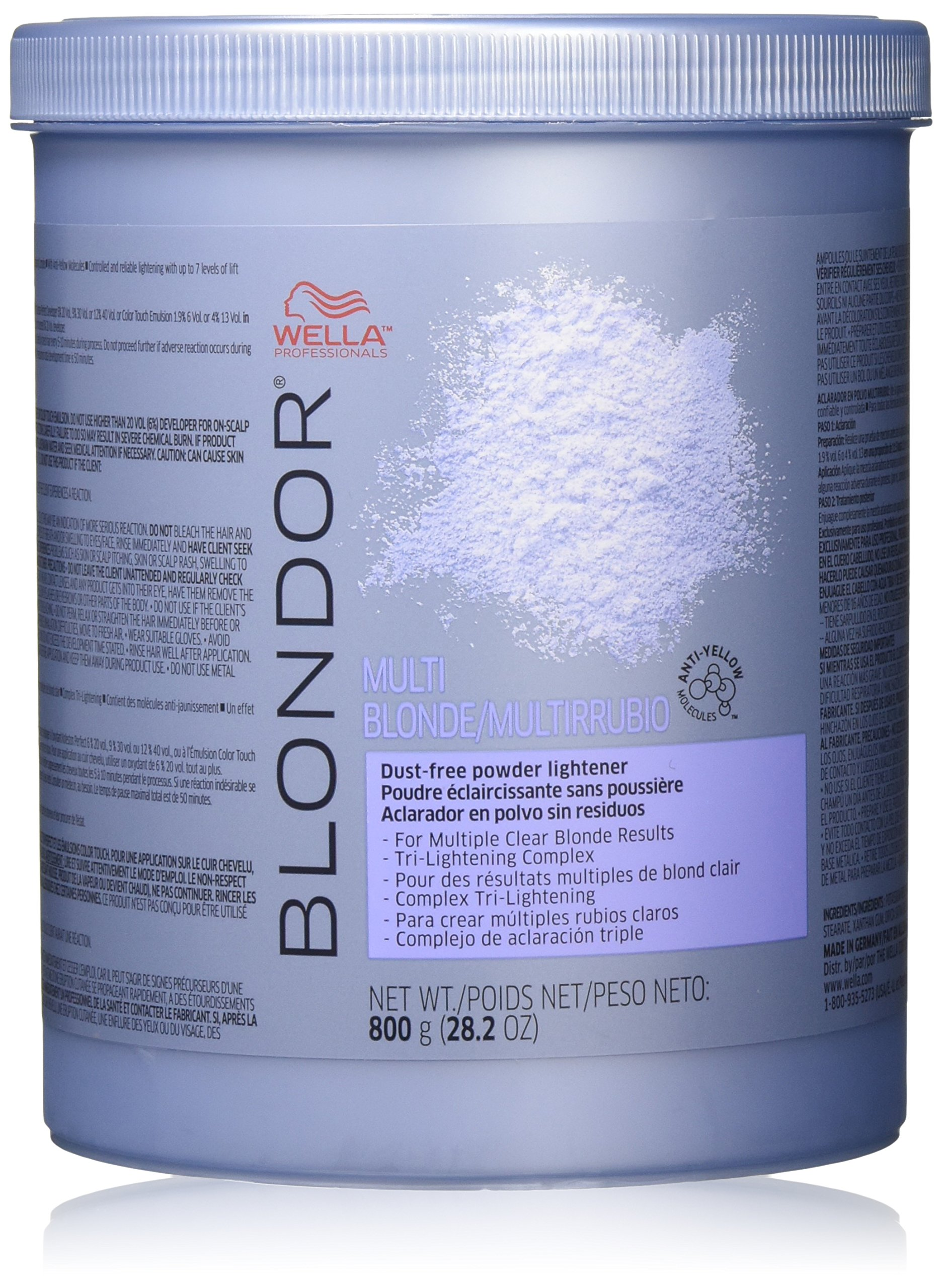 Wella Blondor Multi Blonde Powder Lightener, 28.2 Ounce