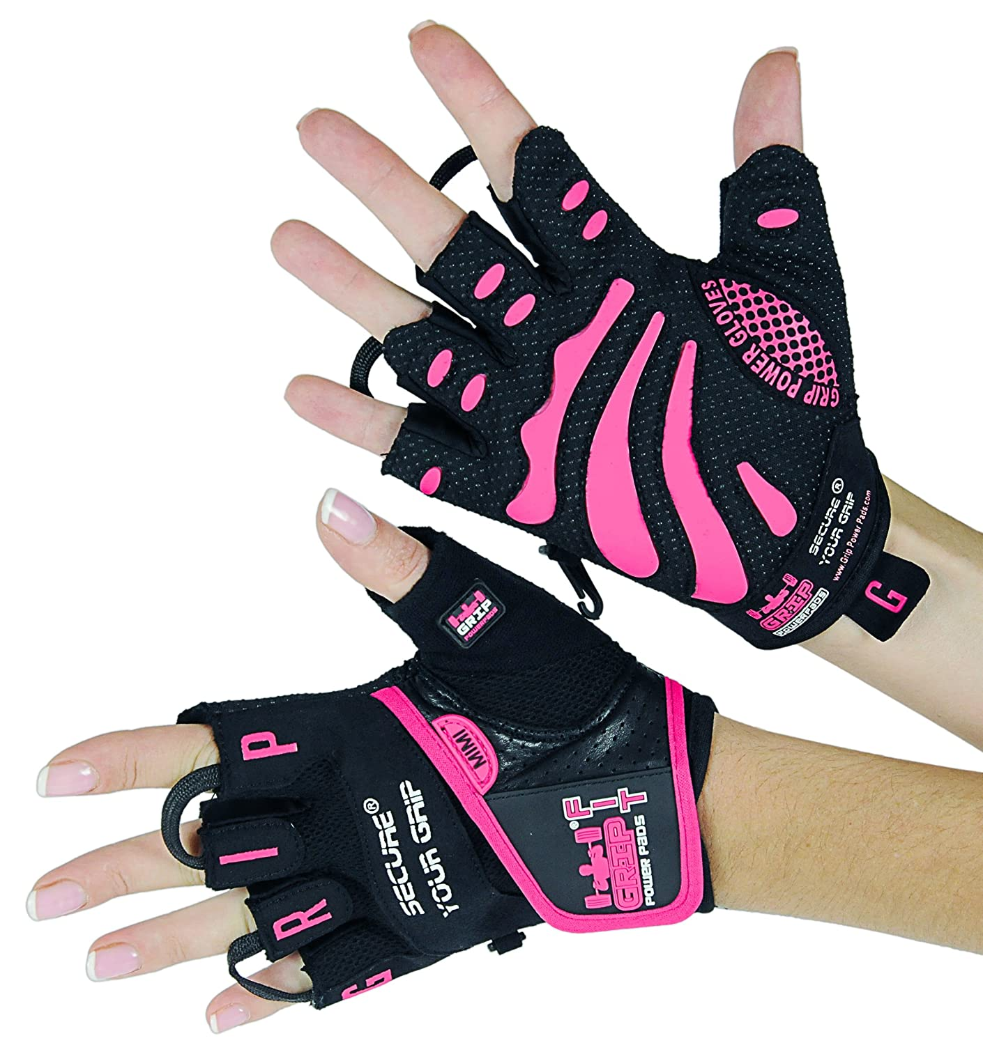 Mimi Grip Power Pads Women Gym Gloves