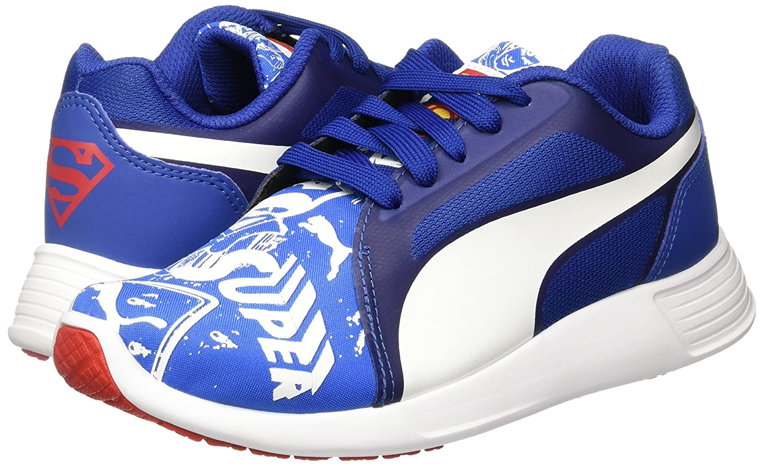 Puma Boy s St Trainer Evo Superman Street Jr Sneakers  Buy Online at Low  Prices in India - Amazon.in 8f2af95e8