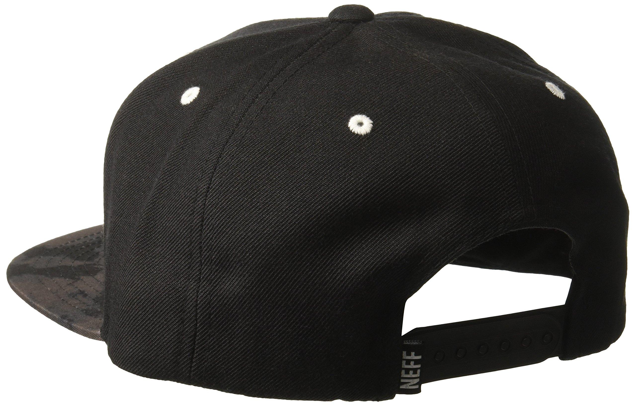 NEFF Men's Daily Cap, Black Wash, One Size by NEFF (Image #2)