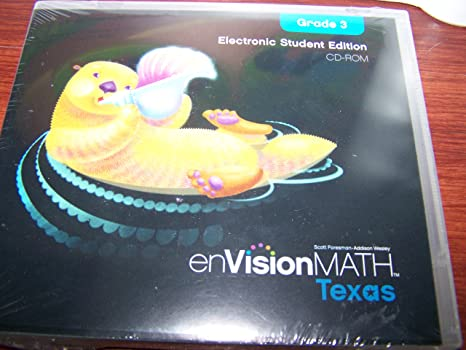 Amazon.com: enVision Math Texas Electronic Student Edition CD-ROM ...