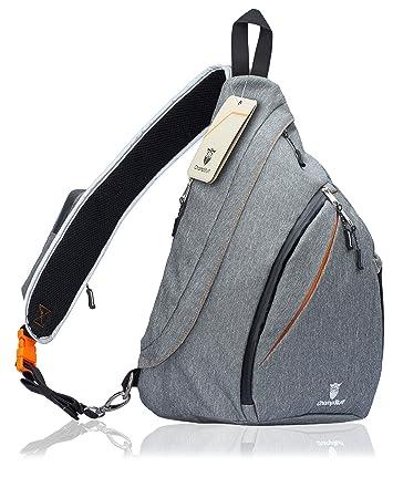 Amazon.com : ChampStuff Sling Bag Travel Crossbody Backpack for ...
