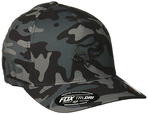 Gorra Flexfit Visera Redondeada Fox Hatchets Negro Camo (S M 7358f79ed40