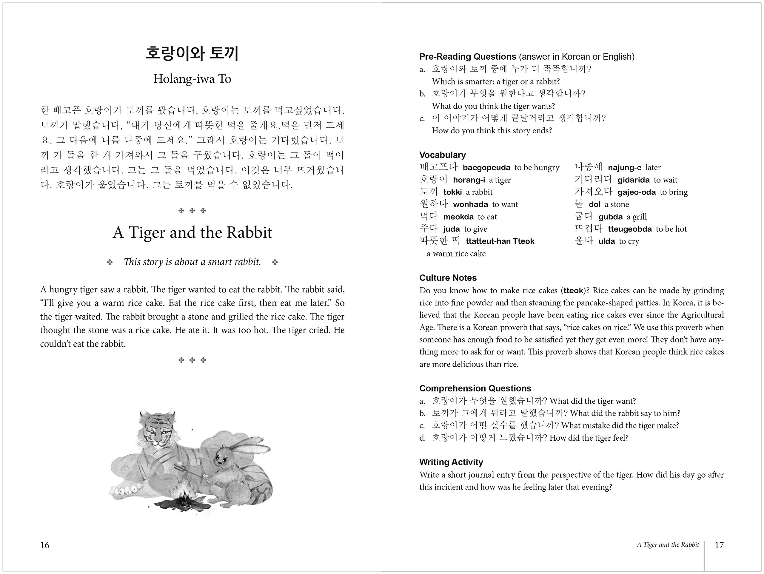 Korean Stories For Language Learners: Traditional Folktales in Korean and English (Free Audio CD Included) by Tuttle Publishing