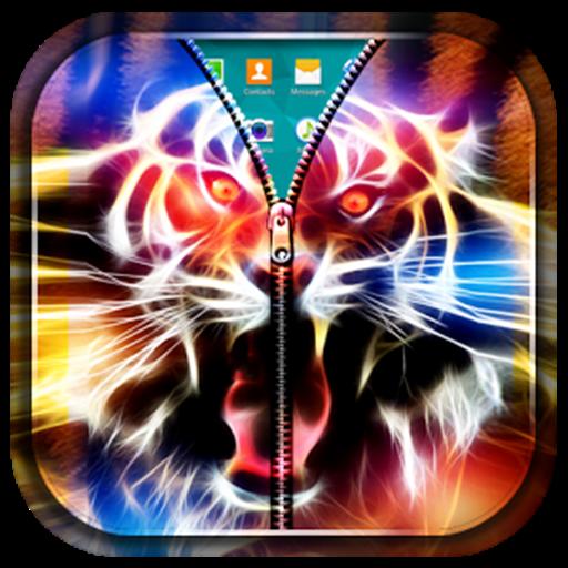 3D Tiger lock screen (Screen Lock Next)