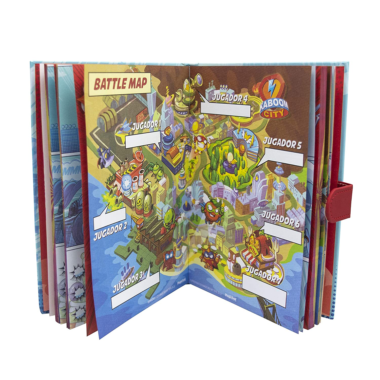 SUPERZINGS Quaderno con Accessori Multicolore Cife Spain 41941