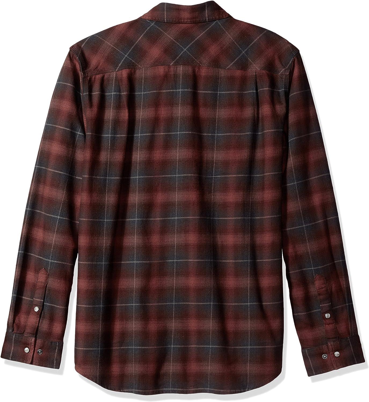 Carhartt Hamilton Rugged Flex Flannel Shirt Mens 2X Long Sleeve Fired Brick NWT