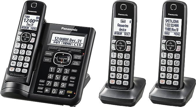 sans Fil Panasonic KX-TGK310SP T/él/éphone Fixe num/érique /écran LCD de 1,5 dect