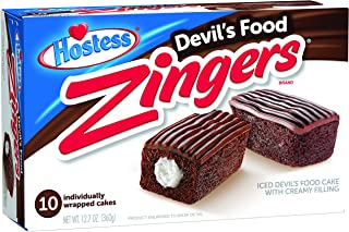 product image for Hostess Zingers, Devil's Food, 10 Count (Pack of 6)