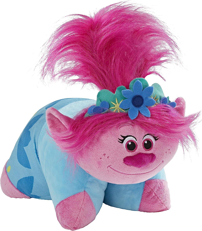 Pillow Pets DreamWorks Poppy Stuffed Animal – Trolls World Tour Plush Toy