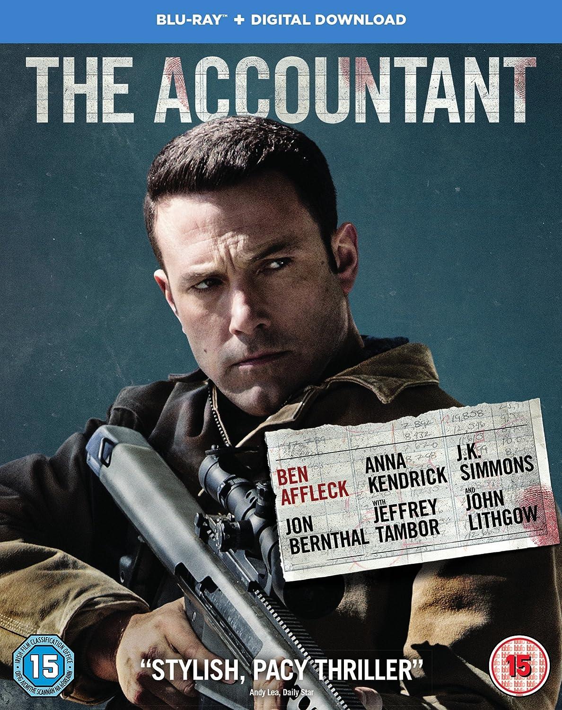 Amazon.com: The Accountant [Blu-ray + Digital Download] [2017]: Ben Affleck, Anna Kendrick, J.K. Simmons, Jon Bernthal, Jeffrey Tambor, ...