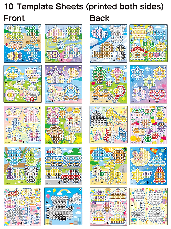 Aquabeads Plantillas Epoch para Imaginar 30288: Amazon.es: Juguetes y juegos