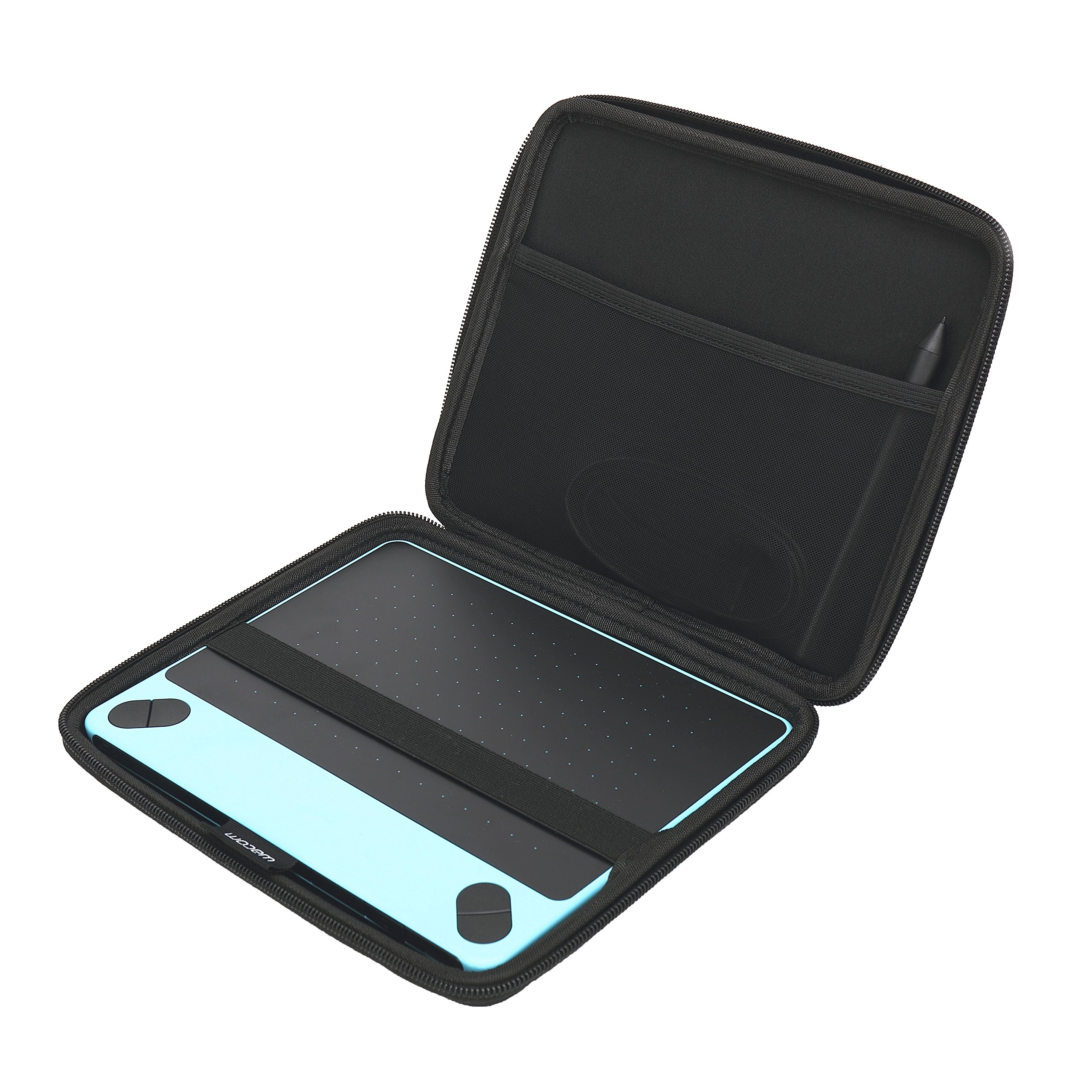 for Wacom Intuos Small Black Digital Drawing Graphics Tablet CTL4100  CTL490DW Hard Carrying Case by Aproca