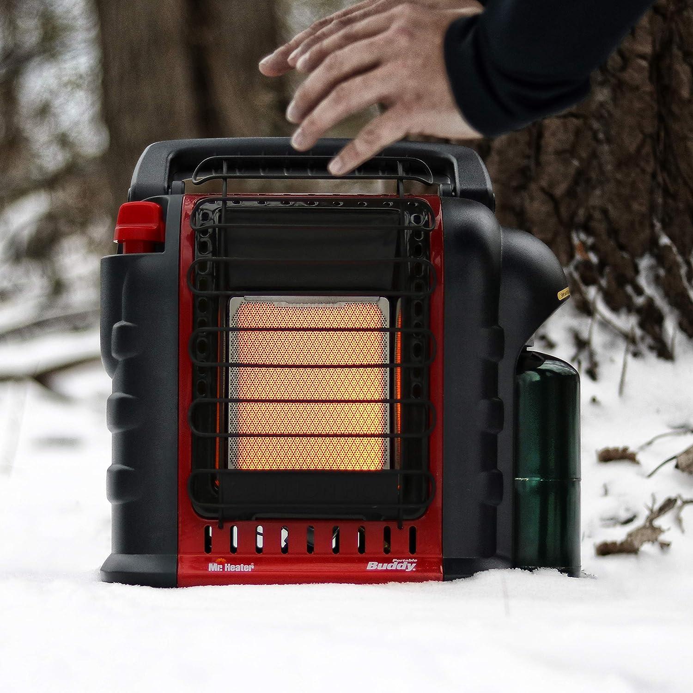 Portable Rv Propane Radiant Heater Indoor Safe Clean