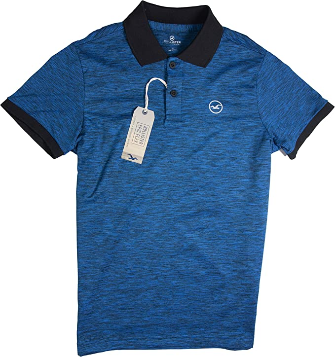 Hollister - Polo - para hombre multicolor Blue Cl 101: Amazon.es ...