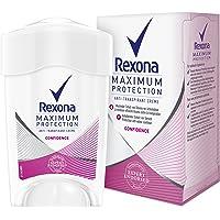 Rexona Maximum Protection Confidence Anti-Transpirant, Damen Deo Cremestick, 1er pack (1 x 45 ml)