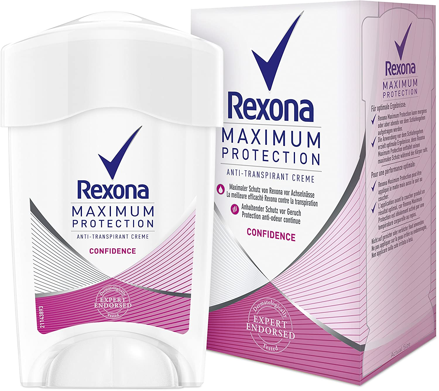 Rexona Confidence Maximum Protection Stick Deodorant