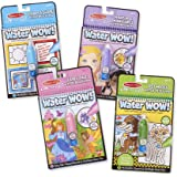 Melissa & Doug Water Wow 4 Pack: Pets, Colors, Fairy Tale and Makeup