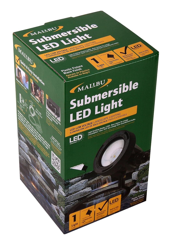 Amazon.com : Malibu Submersible LED Light LED Low Voltage ...