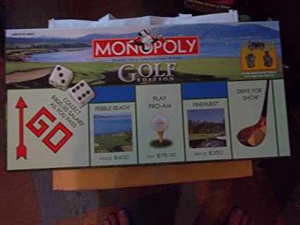Amazon.com: Monopoly Golf Edition: Toys & Games
