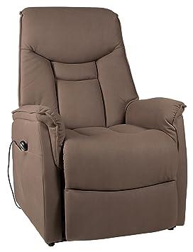 Duo Collection Fernseh-TV-Sessel London XXL, belastbar bis 150 kg, Aufstehhilfe, Motor, Liegefunktion, stufenlos elektrisch v