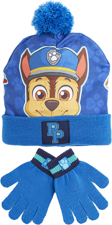 Paw Patrol Skye Children/'s sombrero y guante Set-Talla
