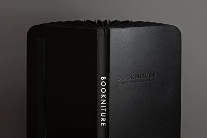 Bookniture (Leather Black Edition with Black Felt)