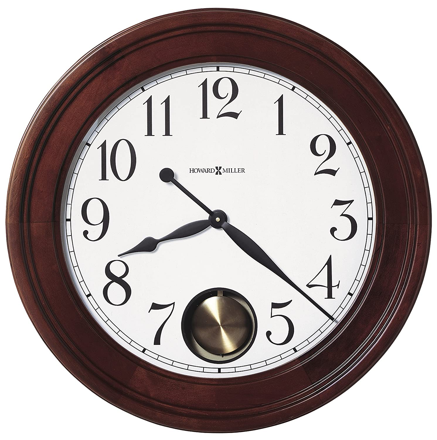 Amazon.com: Howard Miller 625 314 Griffith Gallery Wall Clock: Home U0026  Kitchen