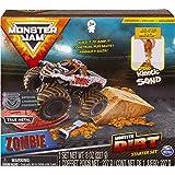 Monster Jam, Zombie Monster Dirt Starter Set, Featuring 8oz of Monster Dirt and Official 1:64 Scale Die-Cast Monster Jam…