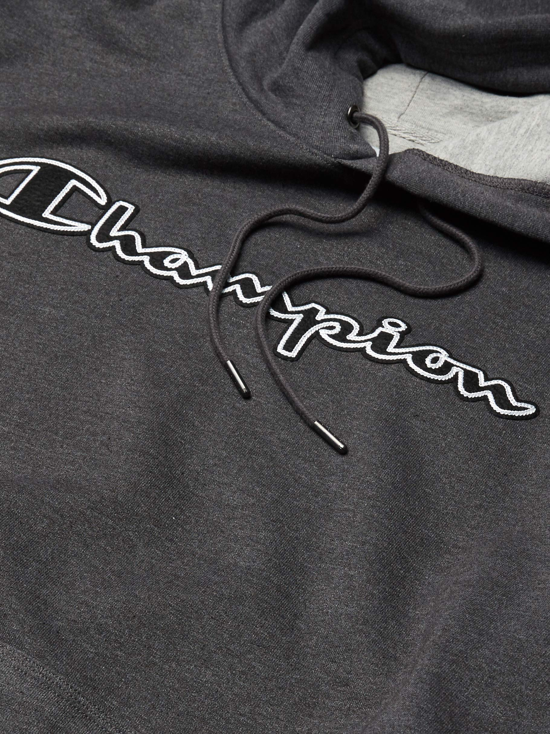 Fashion Shopping Champion Men's Powerblend Applique Hoodie